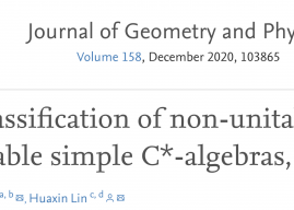 On classification of non-unital amenable simple C*-algebras, II – Guihua Gong, Huaxin Lin