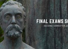 Final Exams – Second Semester 2020-2021